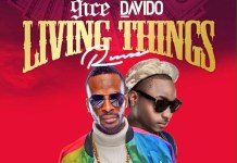 9ice - Living Things (Remix) (Feat. Davido) (GhanaNdwom.com)