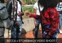 Stonebwoy and Becca