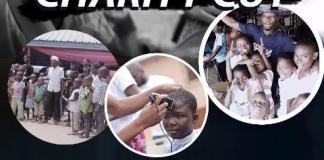 Saminy's Charity Haircut