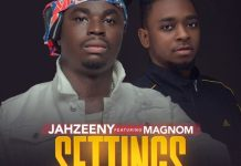 Jahzeeny - Settings (Feat Magnom) (Prod by Magnom)