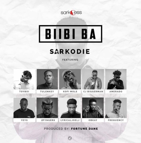 Sarkodie - Biibi Ba (feat Toyboi, Kofi Mole, CJ Biggerman, Tulenkey, Amerado, Yeyo, 2fyngers, Lyrical Joel, O'Bkay & Frequency) (Prod. by Fortune Dane)