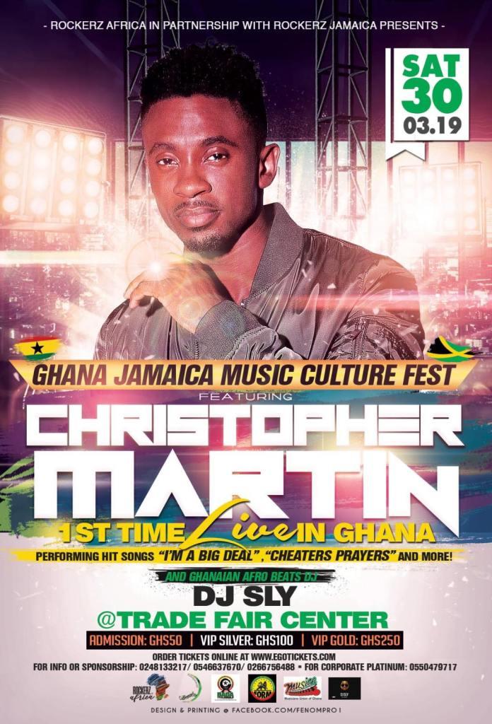 Ghana Jamaica Music Culture Fest