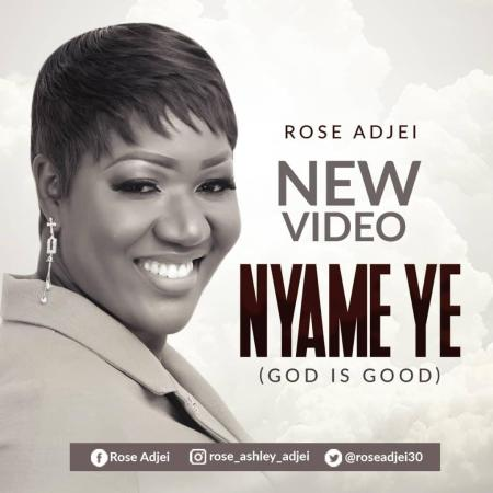New Music Video Rose Adjei – Nyame Ye