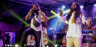 "Rocky Dawuni And Samini Create ""In Ghana"" Remix Live On Stage At ""Beats Of Zion"" Album Concert"