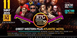 3rd Edition Of RTC Western Music Awards Comes Of Tonight, In Takoradi