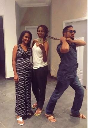 Virna, Yvonne Nelson and Majid