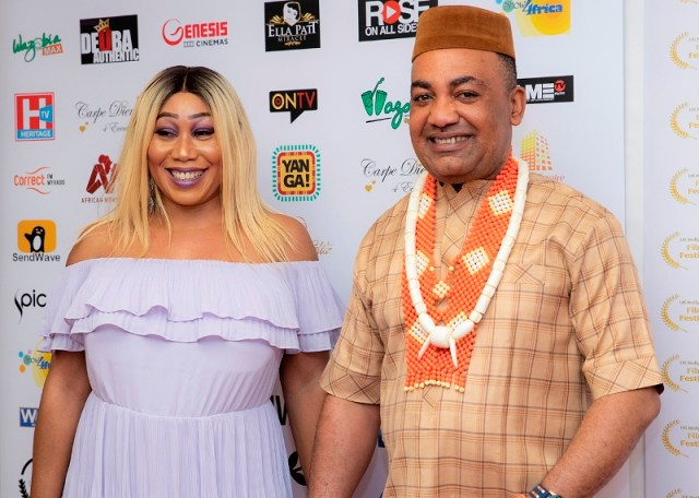 Dr and Mrs Malcolm Benson, President UK Nollywood Producers Guild