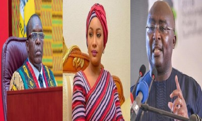 Alban Bagbin, Samira Bawumia, Dr. Mahamudu Bawumia