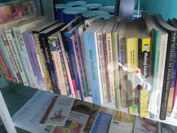 BOOKS ON SOAP MAKING