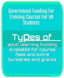 adult learning funding UK