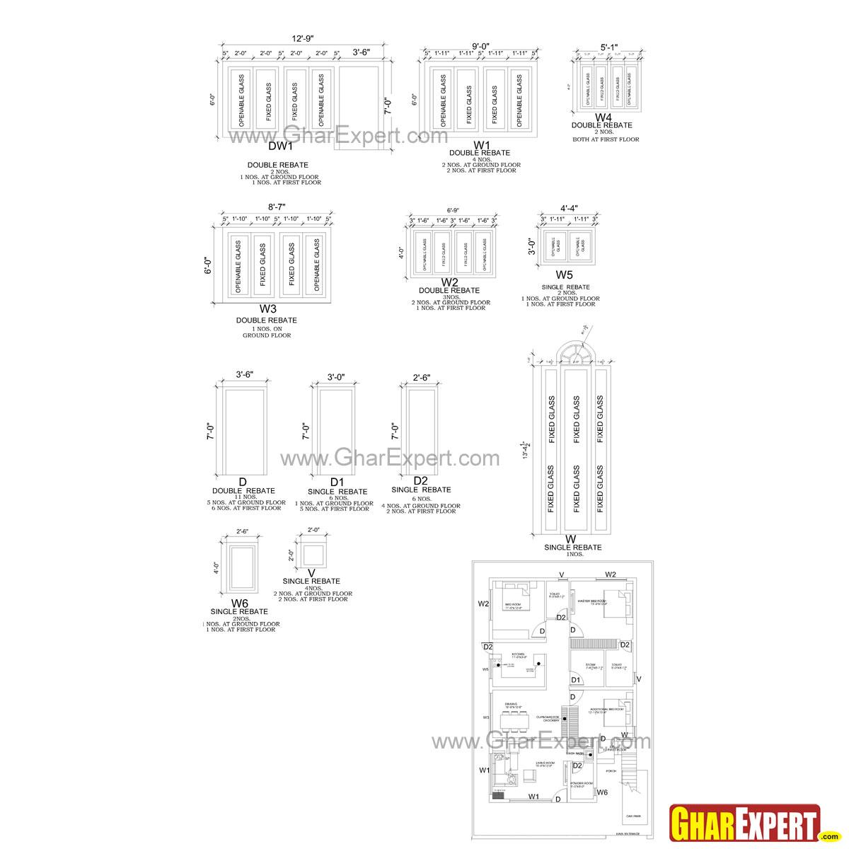 Electrical Plot Plan