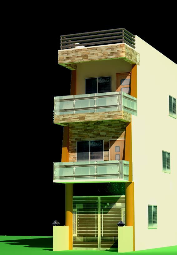 House Front Elevation 13 X 50 East Facing Gharexpert