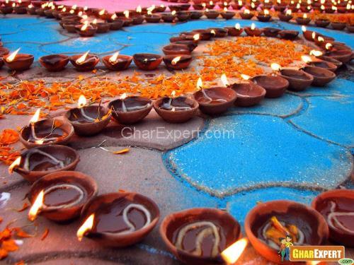Beautiful Diwali Decoration Ideas For Office