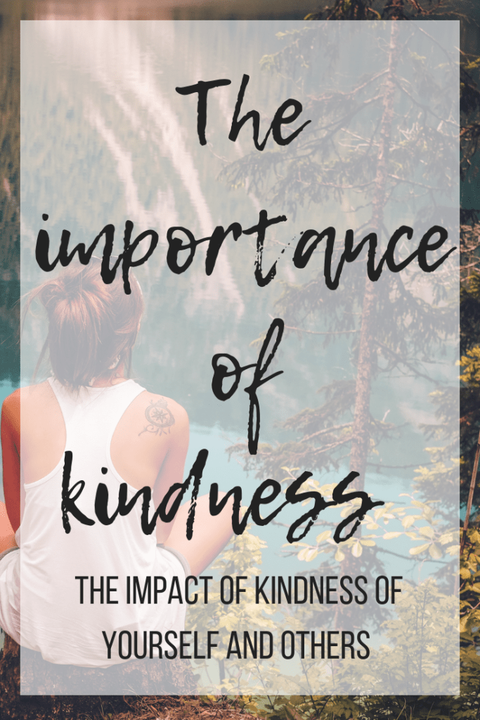 Kindness is important not only for those you help but for you too! Start a ripple of kindness today! #kindness #kindnessmatters #mentalhealth #mindfulness
