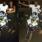 OH YES!! DILLISH IS A WOMAN OF HER WORDS, BUYS ELIKEM THE MOTOR BIKE
