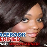 JACKIE APPIAH'S FAKE FACEBOOK PAGE VERIFIED, AND  SHE IS UNCORNCERNED