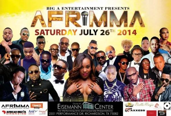 2014 afrimma winners