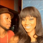 KALYBOS & YVONNE NELSON  WORKING ON A HILARIOUS MOVIE