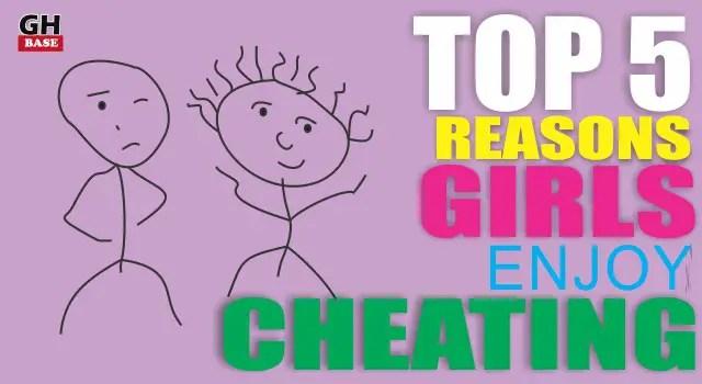why girls cheat