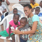 SEE PHOTOS: A-List Actress Christabel Ekeh Donates To Orphanage