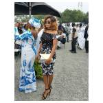 PHOTOS: Mzbel Takes Her Love For NDC Higher As She Attends Funeral Of Prez. Mahama's Late Mum
