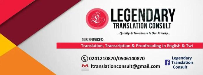 Legendary Translation Consult
