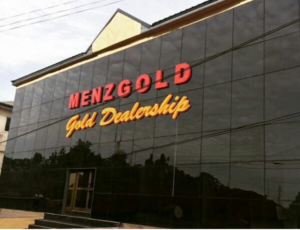 MenzGold Headquarters In Accra East Legon