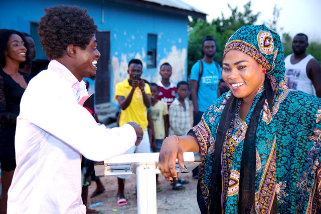 Photos From The Music Video Shoot Of Joyce Blessing & Lil