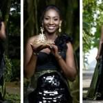 Pearl Nyarko, Winner Of Miss Malaika 2017 Stuns In New Editorial In Elegant Sequined Dress (More Photos)