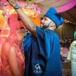 Beautiful Photos From The Traditional Wedding of Banky W and Adesua Etomi