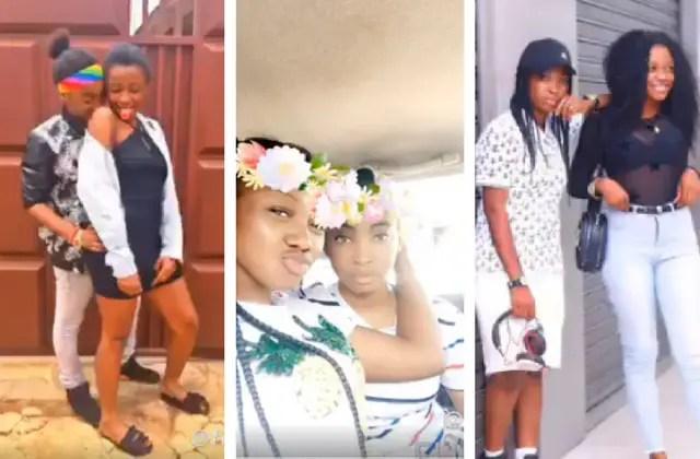 lesbians girls in ghana