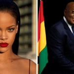 What Did Nana Akuffo Addo Say To Rihanna When He Met Her In Senegal? Watch The Video