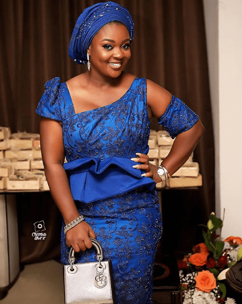 jackie appiah dress to becca wedding