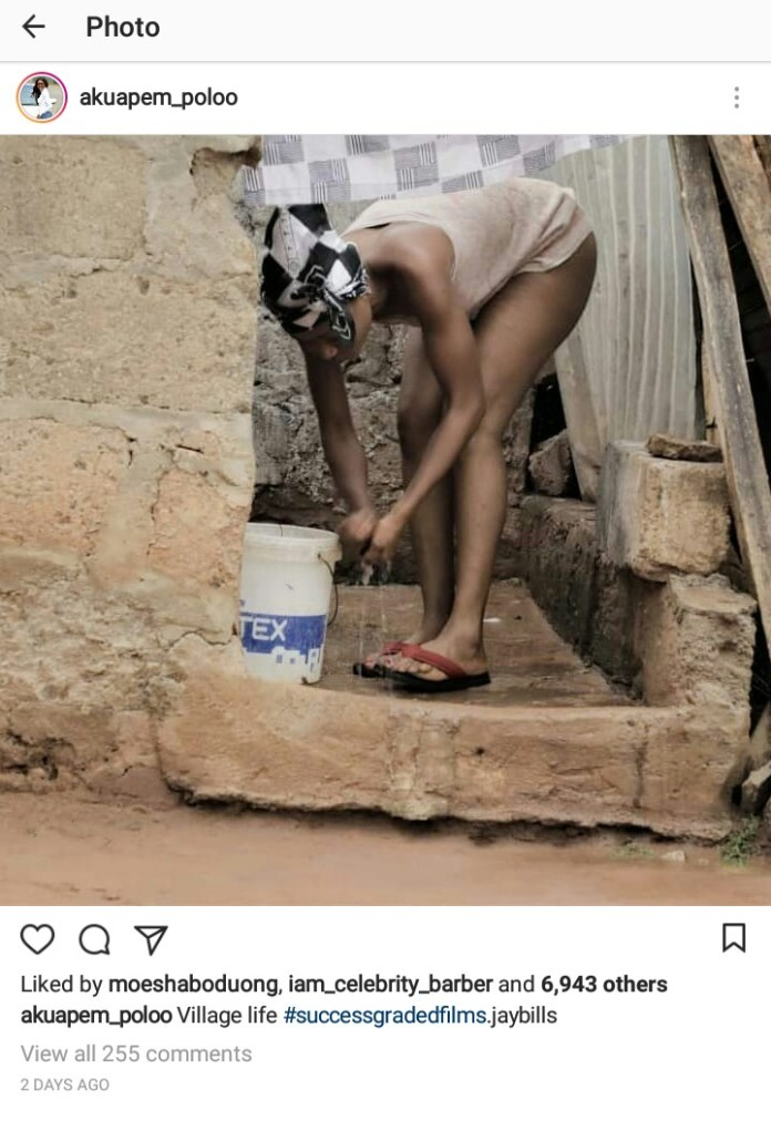Rosemond Brown's Nak€d Bathroom Photo Is Making Social Media Users Question Her State of Mind (+ Photo)