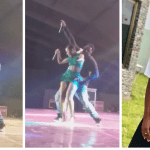 The Moment Fella Makafui Joined Medikal On Stage To Perform 'Ayekoo' Song In This Short Skirt (Video)