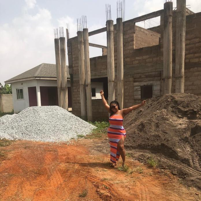 """More trouble for Moesha Buduong as she's being kicked out of her 5 bedroom mansion she claimed to have built """"by God's grace"""". 49"""