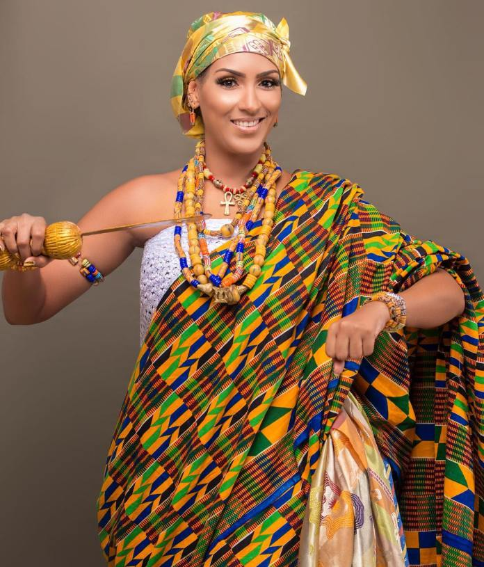 Image result for 4 Photos Of Juliet Ibrahim Looking Like An African Queen