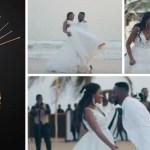 Adekunle Gold Releases New Wedding Video With Wife, Simi (Watch)