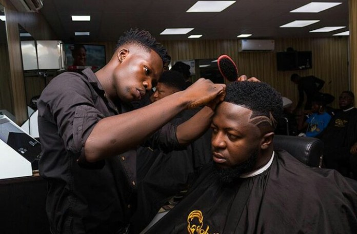 IMG 20190226 040039 759 - Get Familiar With Celebrity Barber, The Brain Behind Sarkodie, Shatta Wale, KiDi, Other Celebrities' Haircut