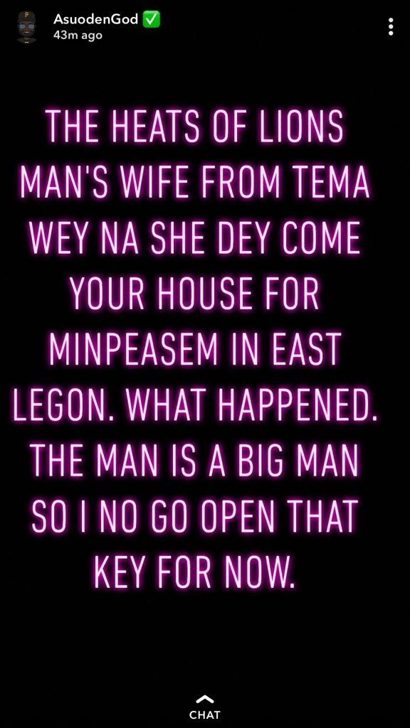 A11E85BD 26D1 433A A8E0 C261B8B27355 - Shatta Wale's $1 million mansion costs less than $200k, he's been chopping wife of Big man & More – Pope Skinny Exposes More Secrets (Screenshots)