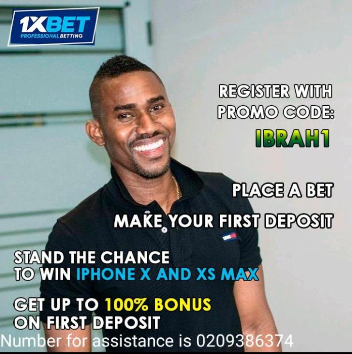 C8611C62 AF15 4281 BCB9 D5E4B5789912 - AMAZING! Stand The Chance Of Winning A Brand New iPhone X and Xs Max From Ibrah One By Simply Placing A Bet-(Full Details)
