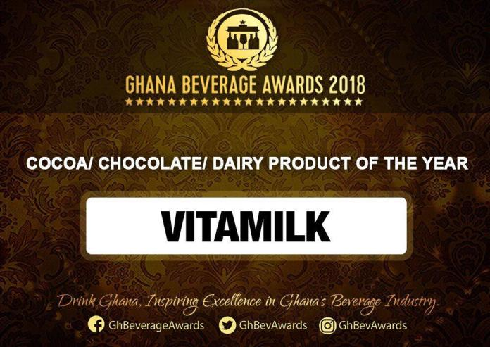 IMG 20190324 WA0049 - Vitamilk Ghana Wins The Cocoa/Chocolate/Diary Product Of The Year Award At The 2019 Ghana Beverage Awards