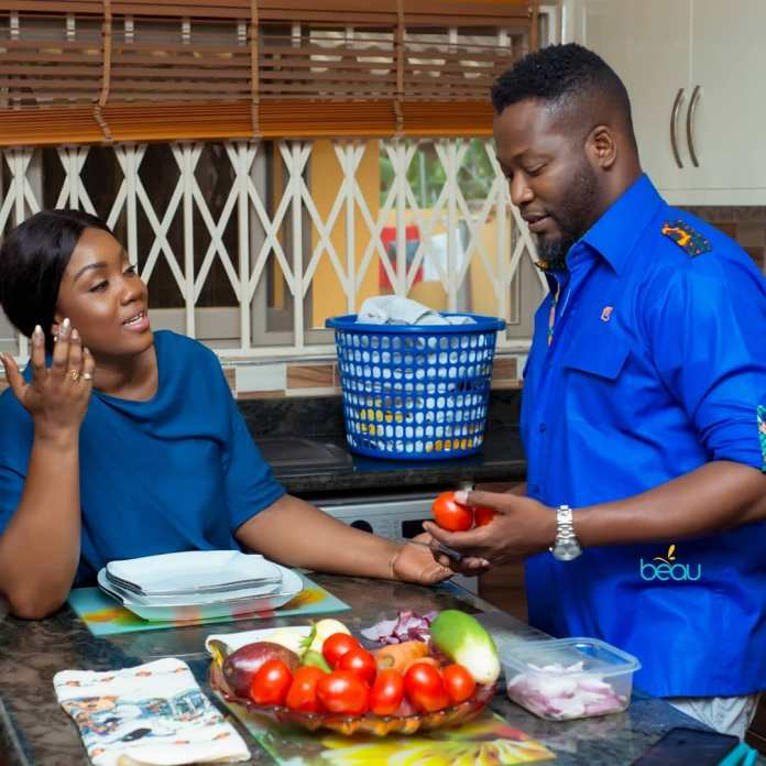 adjeteyanang 53283812 772170786516745 5999662080044998634 n - My Wife Cooks And I Wash The Dishes – Adjetey Annan Shares Tips On How To Be Happy In Marriage