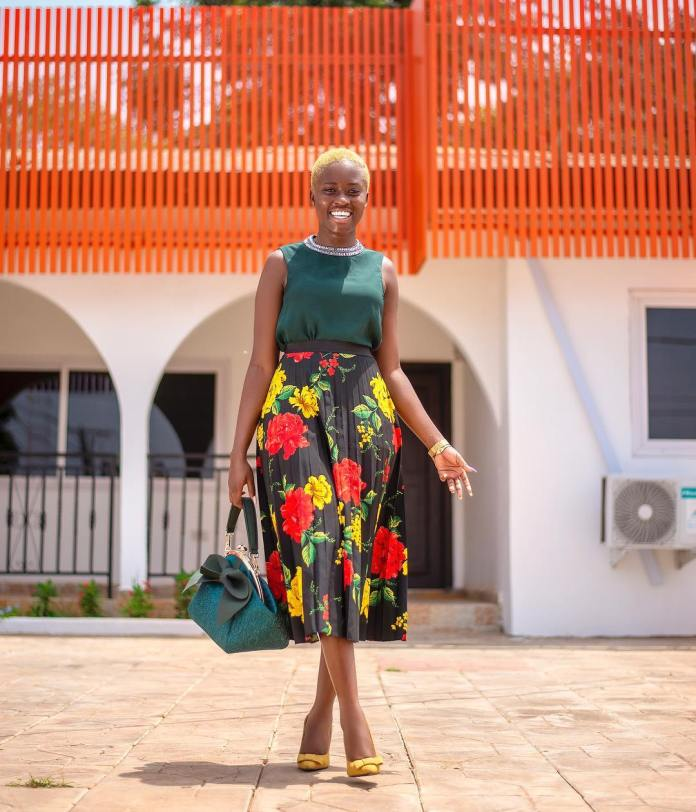 fellamakafui 52344946 377659026350286 5797903247432132966 n - To Be Successful, Get Yourself A Partner Who Will Support Your Dreams – Fella Makafui To Students (+Video)