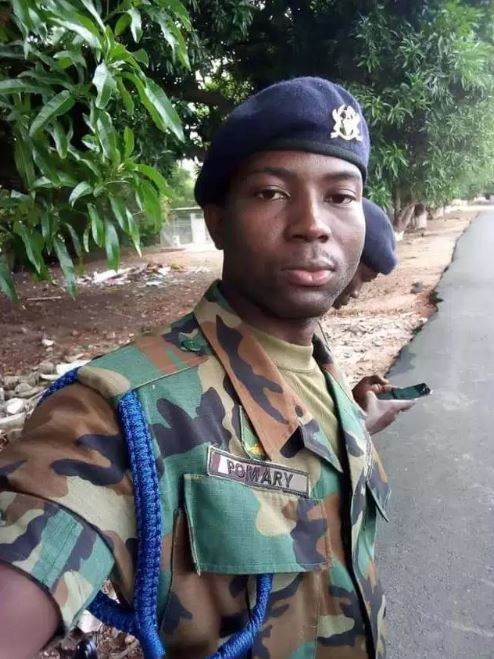 Pomar Gamel - Meet Fella Makafui's ex-boyfriend, Pomar Gamel who is now a military officer (PHOTOS)