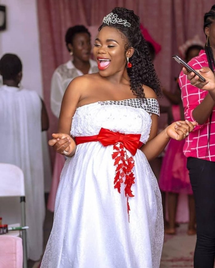akua gmb 1 - Akua GMB welcomes 3rd child after she addressed her marriage breakup rumours (PHOTOS)