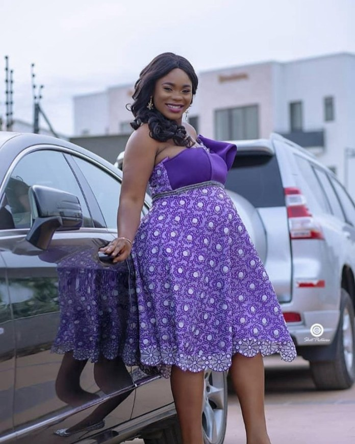 akua gmb 2 - Akua GMB welcomes 3rd child after she addressed her marriage breakup rumours (PHOTOS)