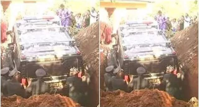 billonaire 1 - Billionaire buries dead girlfriend in a fully loaded Hummer car instead of coffin (PHOTOS)