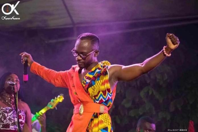 oky - Photos: Okyeame Kwame launches 'Made in Ghana' Album