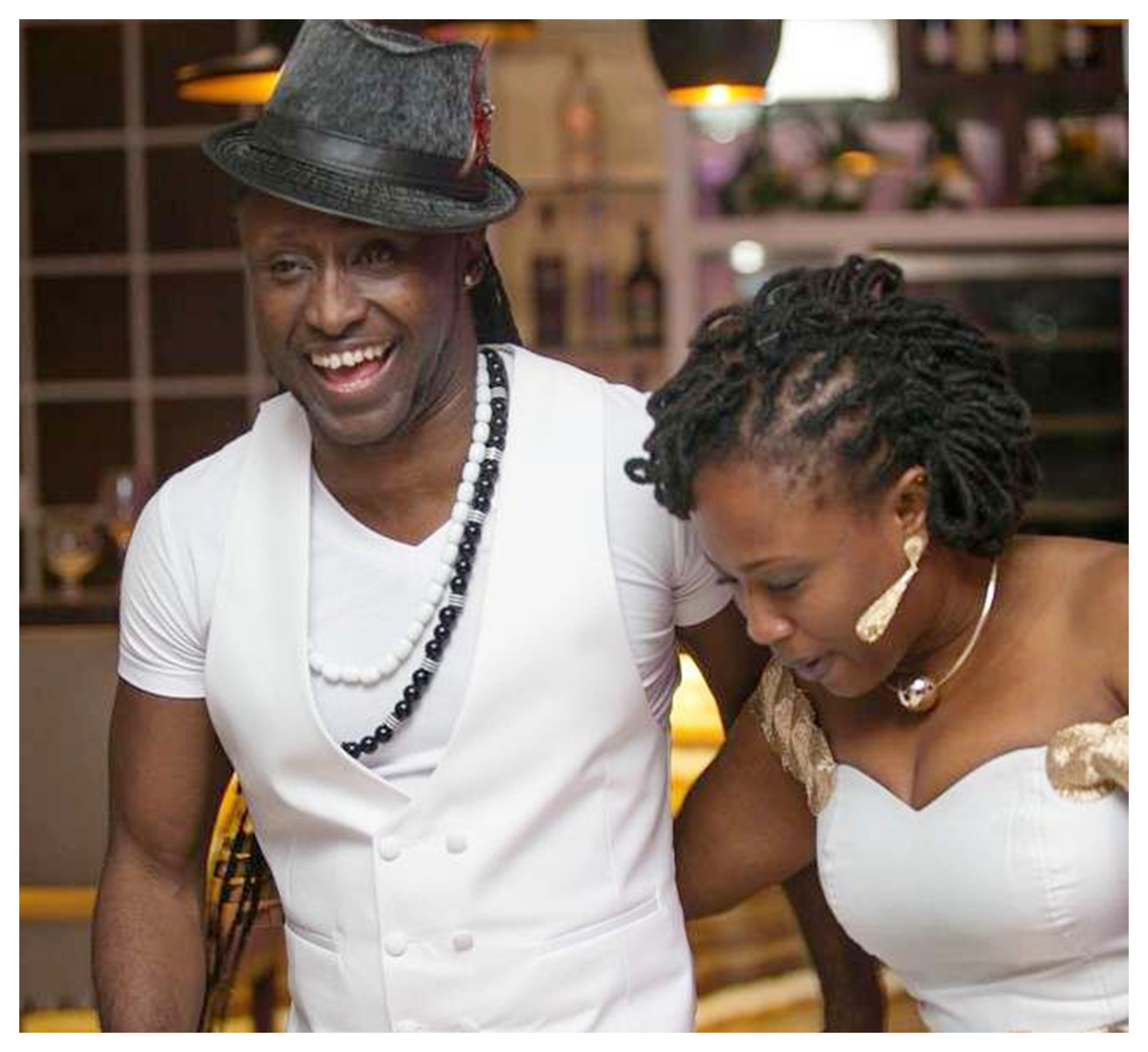Reggie Rockstone & His Wife Reveal How They Met » GhBase•com™